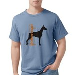 grungesilhouette.png Mens Comfort Colors Shirt