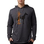 grungesilhouette.png Mens Hooded Shirt