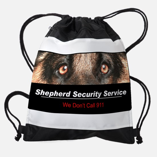 security.png Drawstring Bag