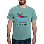 pawprints Mens Comfort Colors Shirt
