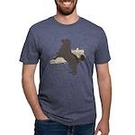 jump Mens Tri-blend T-Shirt