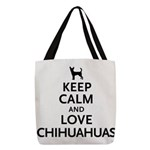 keepcalm.png Polyester Tote Bag