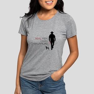 realmen Womens Tri-blend T-Shirt