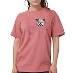 love Womens Comfort Colors Shirt