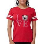 love Womens Football Shirt