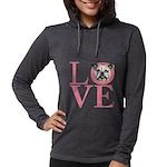 love Womens Hooded Shirt