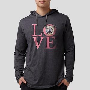 love Mens Hooded Shirt