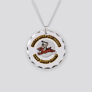 AAC - 325th Bomb Squadron,92nd Bomb Group Necklace