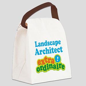 Landscape Architect Extraordinaire Canvas Lunch Ba