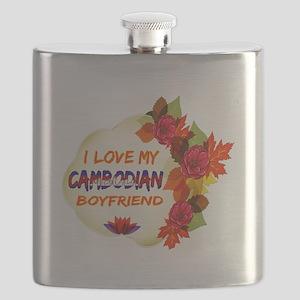 Cambodian Boyfriend designs Flask
