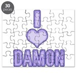 I heart Damon 4 Puzzle