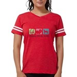 peacedogs Womens Football Shirt
