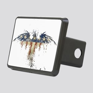 Americana Eagle Rectangular Hitch Cover