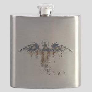 Americana Eagle Flask