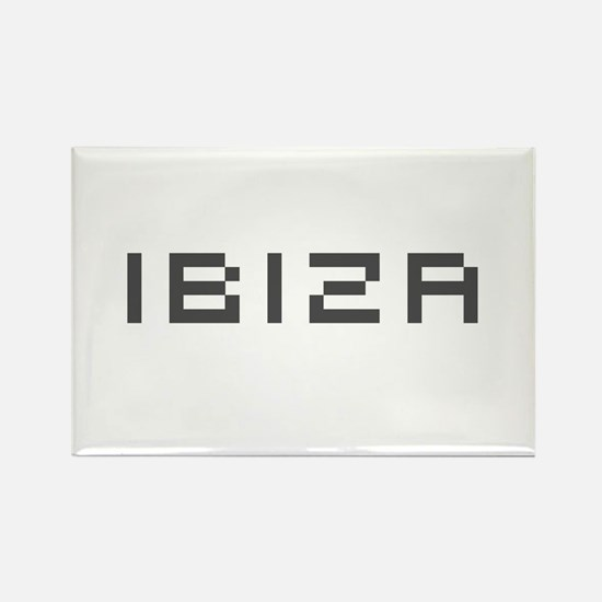 Ibiza Rectangle Magnet