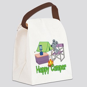 Happy Camper Canvas Lunch Bag