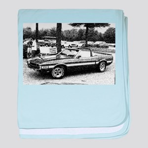 69 Shelby GT baby blanket