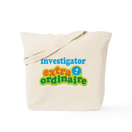 Investigator Extraordinaire Tote Bag