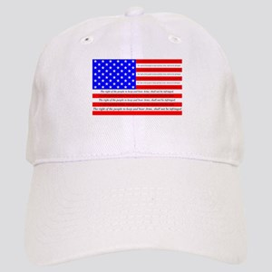 Flag with 2nd Amendment Cap