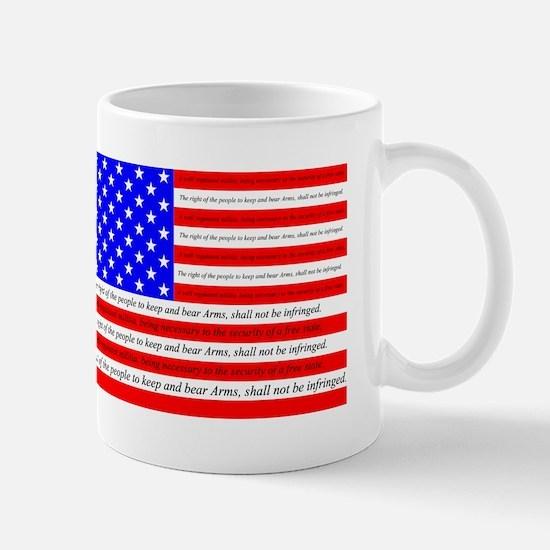 Flag with 2nd Amendment Mug