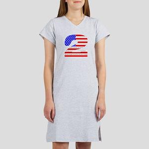 Flag2 Women's Nightshirt