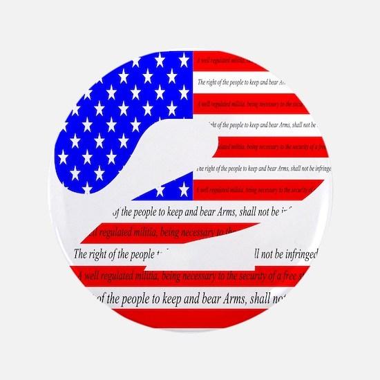 """Flag2 3.5"""" Button"""