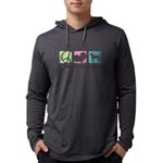 peacedogs Mens Hooded Shirt