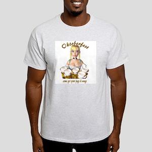 Oktoberfest - Come Get Your J Ash Grey T-Shirt
