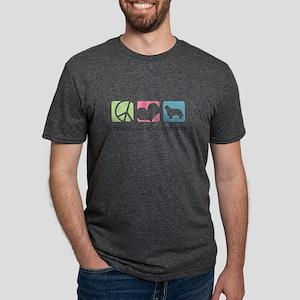 peacedogs Mens Tri-blend T-Shirt