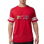 peacedogs Mens Football Shirt