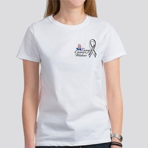 Lung Cancer Widow Women's T-Shirt