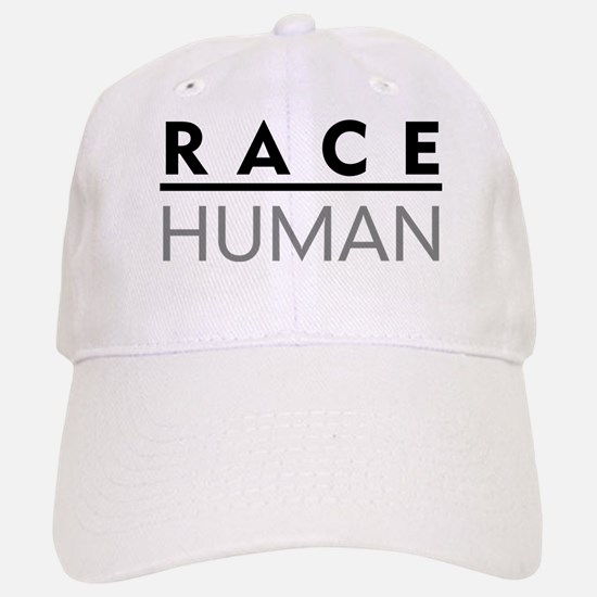 Race Human Baseball Baseball Cap