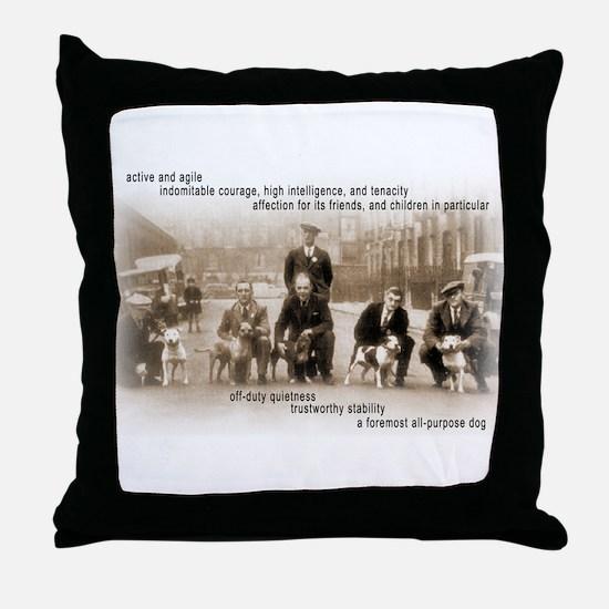 Unique Sharpei Throw Pillow