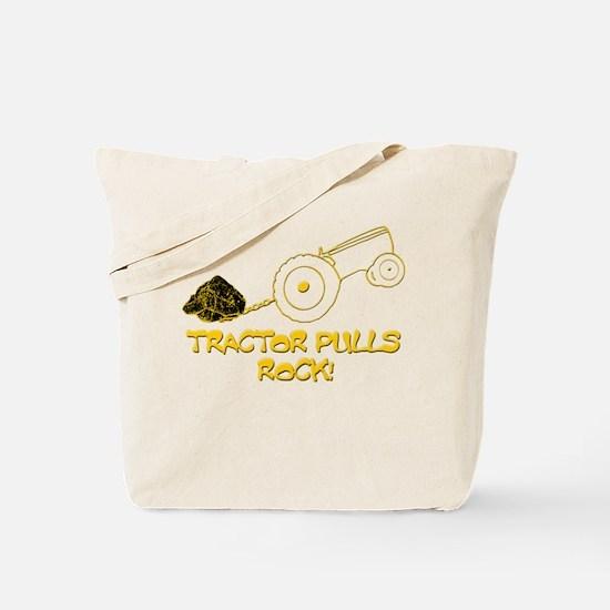 Tractor Pulls Rock Tote Bag