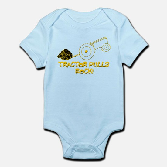 Tractor Pulls Rock Infant Bodysuit