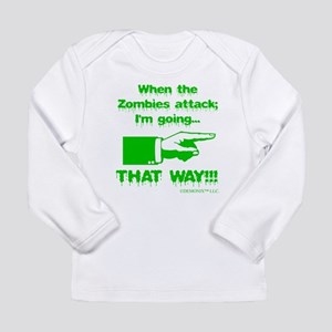 Im going right... Long Sleeve Infant T-Shirt