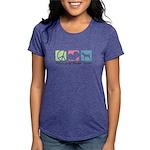 peacedogs Womens Tri-blend T-Shirt