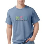 peacedogs.png Mens Comfort Colors Shirt