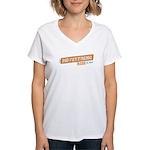 Movestrong Ride Women's V-Neck T-Shirt