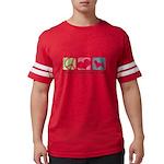 peacedogs Mens Football Shirt