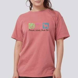 peacedogs Womens Comfort Colors Shirt