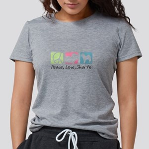 peacedogs Womens Tri-blend T-Shirt