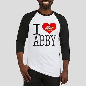 I Heart Abby and Caf-Pow of NCIS Fame Baseball Jer