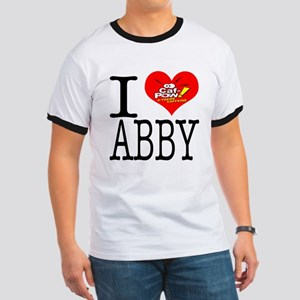 I Heart Abby and Caf-Pow of NCIS Fame Ringer T