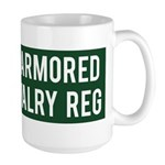 2nd Armored Cavalry Large Mug