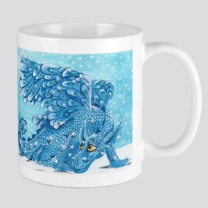 Snow Dragon Mug