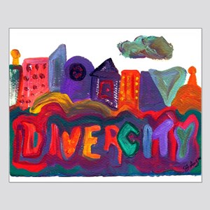 Divercity Small Poster