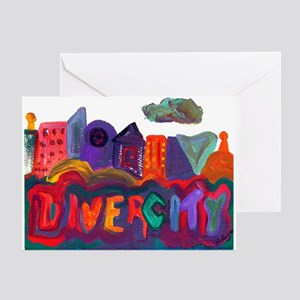 Divercity Greeting Card