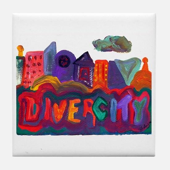 Divercity Tile Coaster