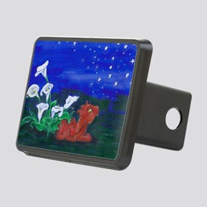 Star Gazer Dragon Rectangular Hitch Cover